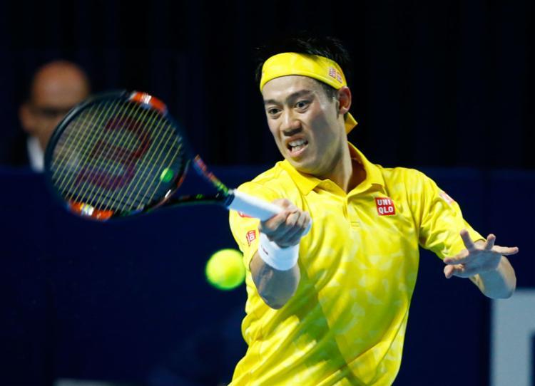 O japonês Nishikori subiu para a quarta colocação do ranking da ATP - Foto: Arnd Wiegmann | Reuters