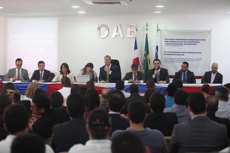 Sessão foi marcada por posições bem divergentes sobre proibição de vaquejadas - Foto: Lúcio Távora l Ag. A TARDE
