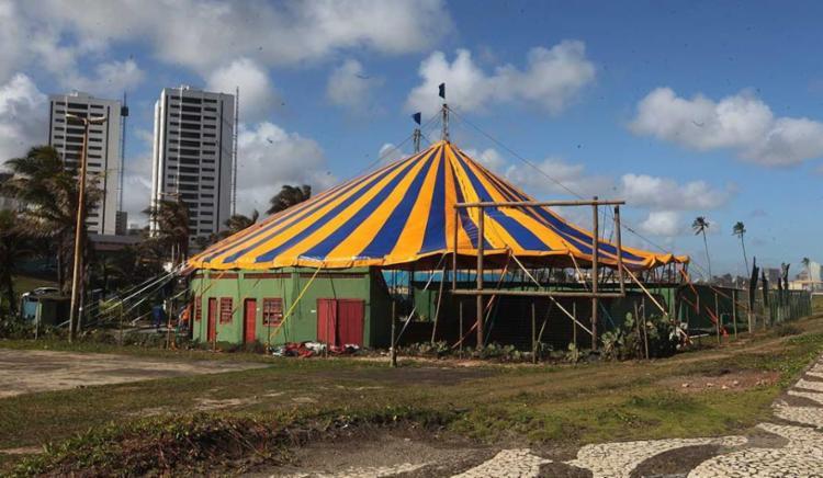 Circo Picolino está em atividade desde 1985 - Foto: Margarida Neide | Ag. A TARDE