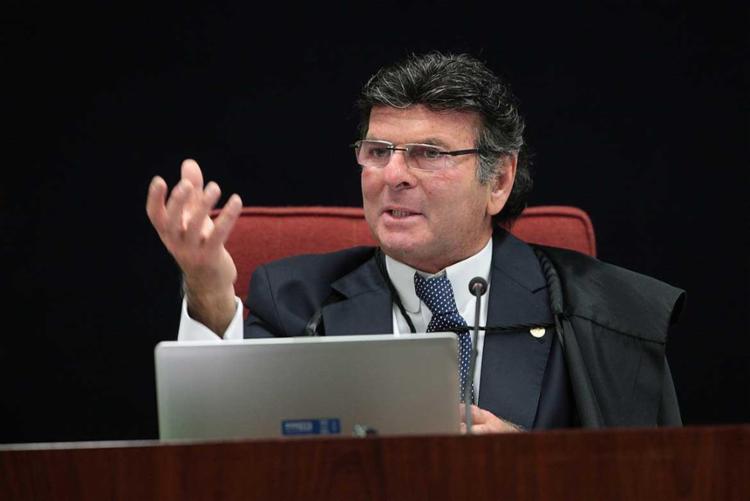 Ação judicial de Luiz Fux aplica benefício de forma generalizada - Foto: Rosinei Coutinho/SCO/STF / Divulgação
