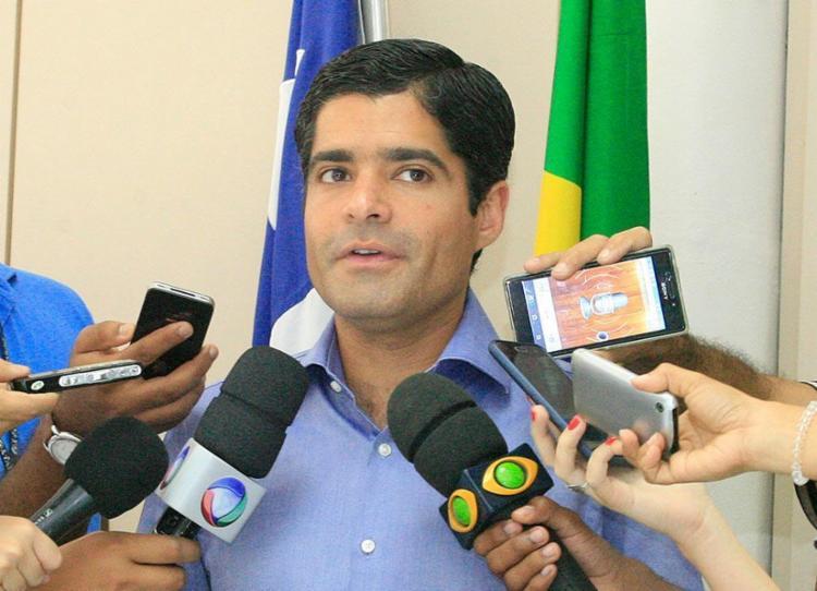 A atual base de apoio de Neto inclui DEM, PSDB e MDB, além de outros partidos - Foto: Luciano da Matta | Ag. A TARDE 13.10.2016