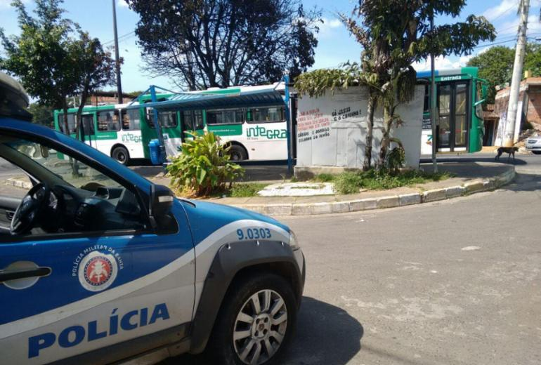 Coletivos voltam a circular nos bairros de Valéria e Águas Claras nesta manhã