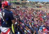 Bahia comemora acesso com multidão no aeroporto e trio elétrico | Foto: