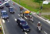 Motociclista fica ferido após moto colidir em carro na Juracy Magalhães | Foto: