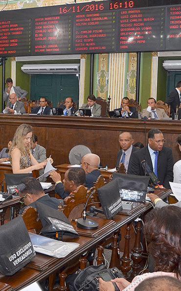 A bancada governista garantiu aprovação de projetos - Foto: Divulgação l Câmara Municipal de Salvador