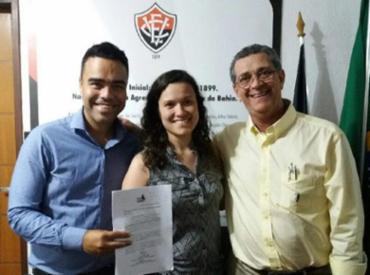 Chapa de Walter Seijo (D) e Paulo Carneiro está amparada por uma liminar da Justiça - Foto: Bruno Torres l Vitória Gigante