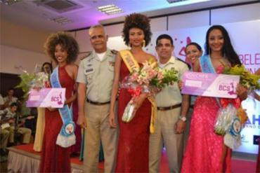 """Luana, de 17 anos, parabenizou as concorrentes. """"São todas vencedoras"""", disse - Foto: Mateus Pereira l Gov-BA"""