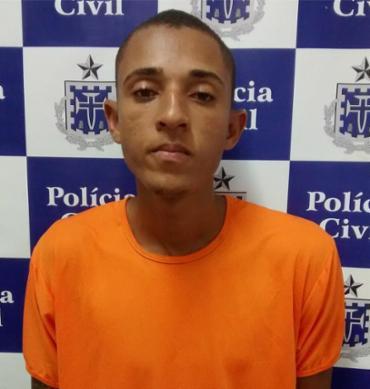 Tiso havia dito que deu carona a Tiago, quando dupla chegou e atirou - Foto: Divulgação l Ascom l Polícia Civil