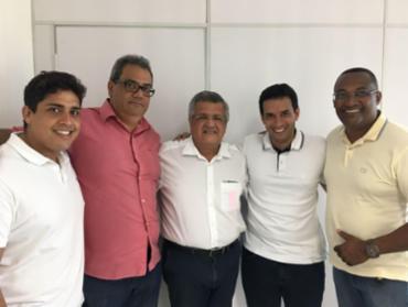 Vereadores do PTN sacramentam apoio a Leo Prates - Foto: Divulgação