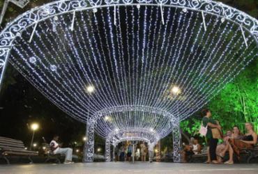 Luzes enchem o Campo Grande de cores e brilho para o Natal