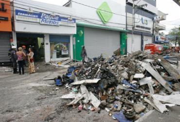 Sete feridos na explosão em farmácia seguem internados