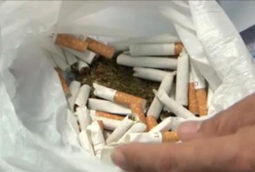 Advogado é preso levando cigarro recheado com maconha para cliente