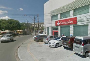 Banco Santander é alvo de assalto em Salvador