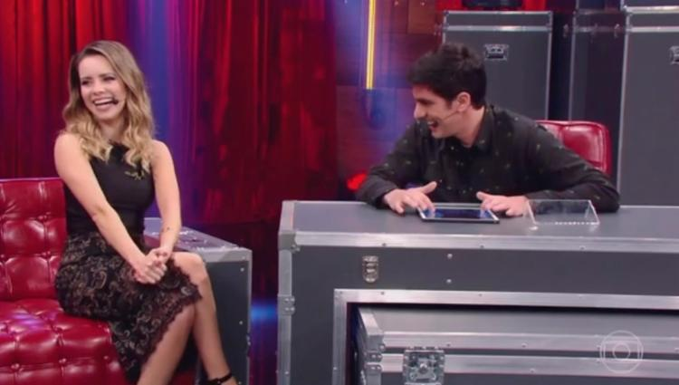 Cantora foi a convidada do Adnight nesta quinta-feira, 10 - Foto: Reprodução | TV Globo