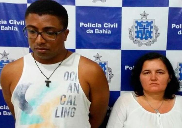 Carlos declarou que não iria responder por sequestro, pois Claudinea era sua comparsa - Foto: Reprodução | Blitz Conquista