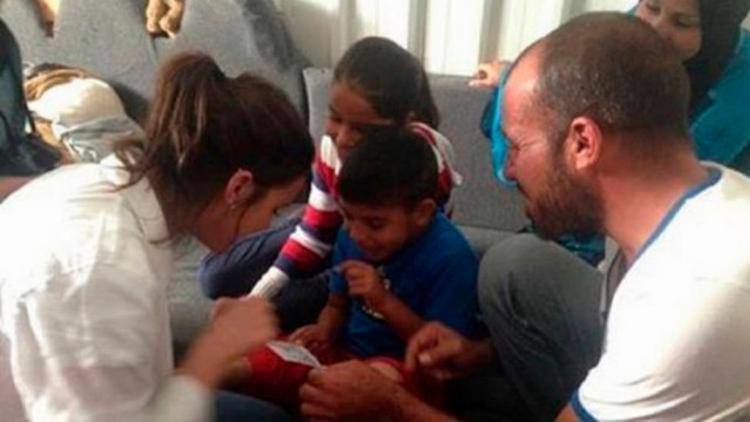 Bruna registrou seu encontro com Mohammad, 5 anos, no Snapchat - Foto: Reprodução   Snapchat