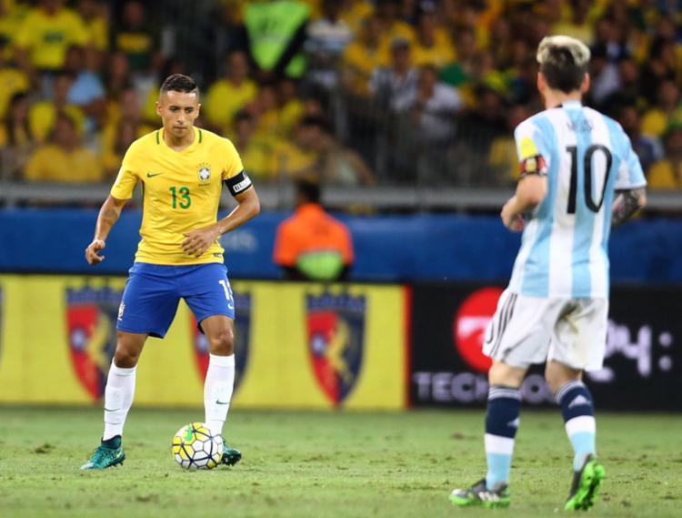 Argentina está em 1º lugar com 106 pontos na frente do Brasil - Foto: Divulgação   lucasfigfoto/ CBF