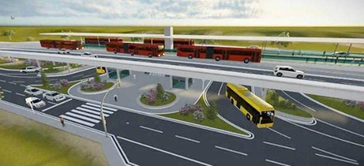 BRT promete fazer trajeto entre Lapa e Iguatemi em 16 minutos - Foto: Divulgação | Semob