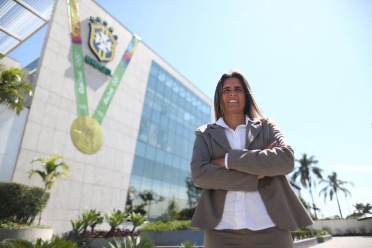 Emily estreia como treinadora da Seleção em dezembro - Foto: Lucas Figueiredo | CBF