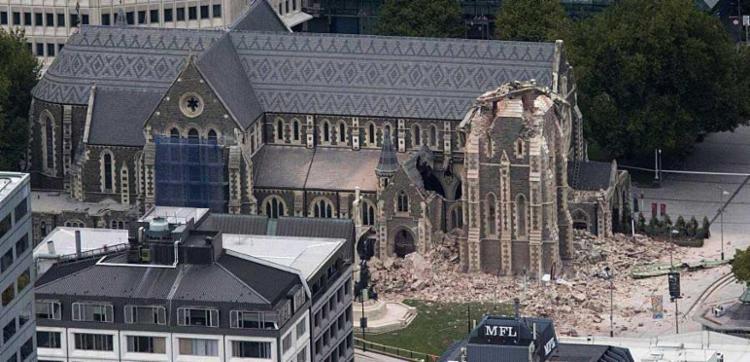 Terremoto causou danos a prédios num raio de mais de 200 quilômetros - Foto: Reprodução Twiter | @breakingnewsie