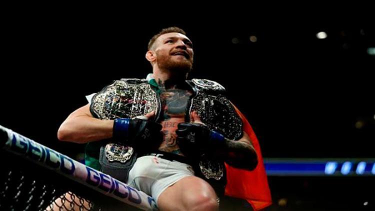 McGregor não tomou conhecimento de Alvarez e dominou a luta - Foto: Divulgação | UFC
