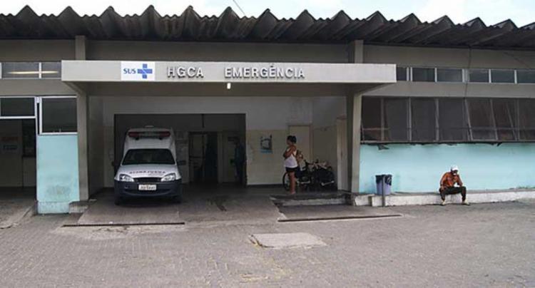 Vítimas foram levadas para o Hospital Geral Cleriston Andrade - Foto: Divulgação