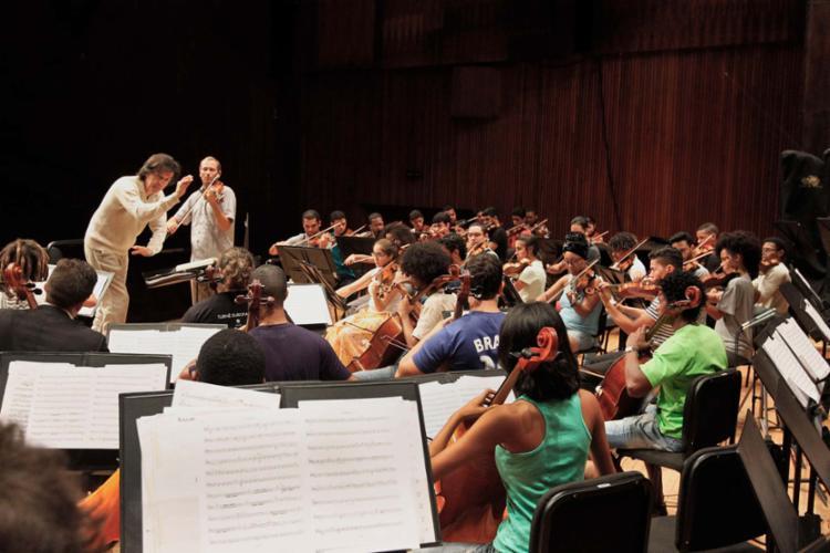 Em Salvador, há o Neojiba, cuja orquestra acaba de realizar uma turnê pela Europa - Foto: Carla Ornelas   Gov-BA   Divulgação