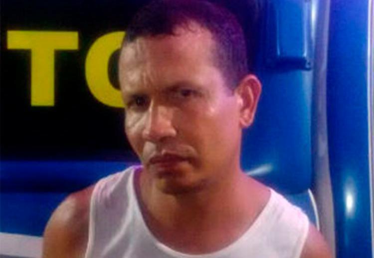 Leandro P foi preso após PMs suspeitarem do comportamento dele - Foto: Divulgação | SSP