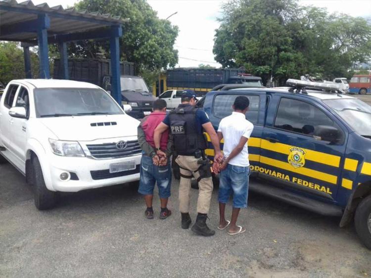 O veículo foi roubado em Fortaleza/CE e seria entregue em Brasília/DF - Foto: PRF | Divulgação
