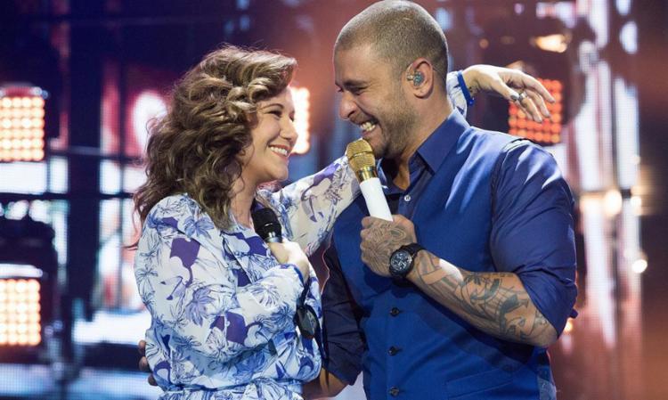 Diogo e Rita dividem o palco em uma música - Foto: Divulgação