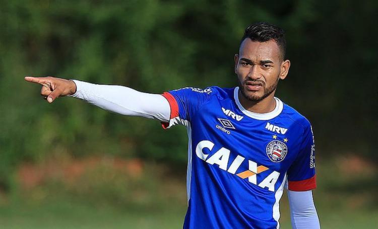 Jackson será substituído por Lucas Fonseca - Foto: Felipe Oliveira l EC Bahia
