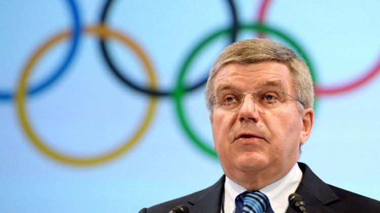 Bach realizou um discurso na Associação dos Comitês Olímpicos Nacionais nesta terça-feira, 15 - Foto: Divulgação