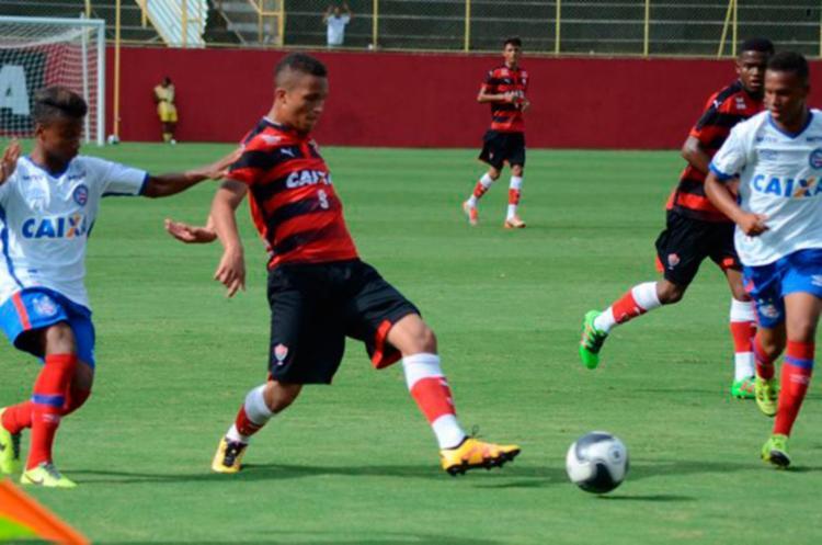 Vitória e Bahia jogaram no Barradão neste feriado - Foto: Francisco Galvão | EC Vitória