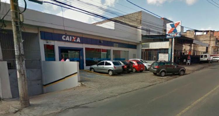 A Polícia Federal irá fazer perícia na agência da Caixa Econômica - Foto: Google Maps | Reprodução
