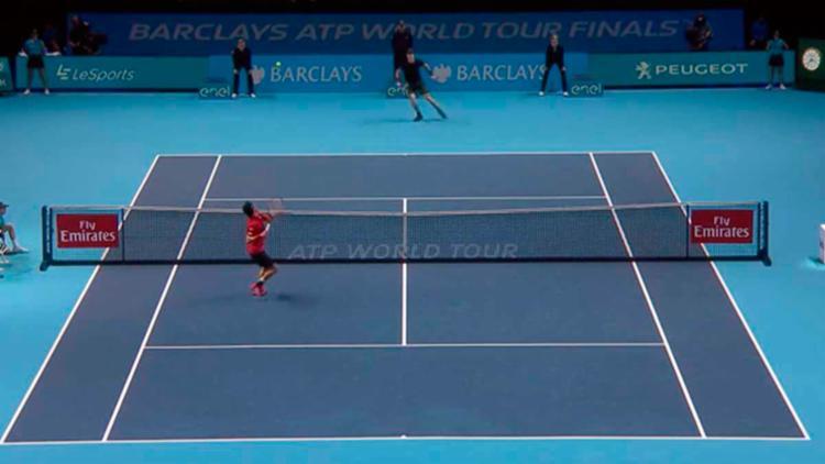 Murray venceu mais uma no ATP Finals - Foto: Reprodução | Twitter | ATP World Tour