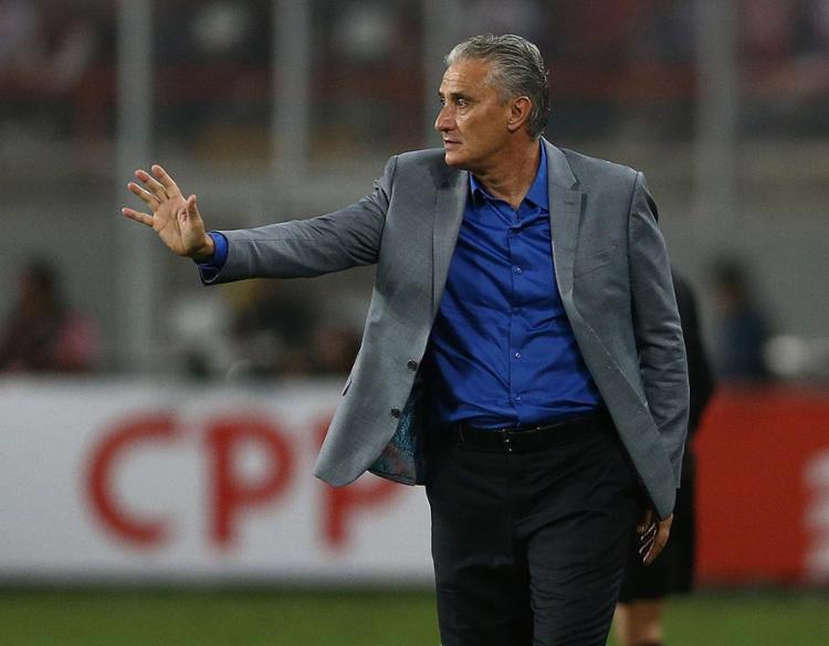O técnico Tite venceu as seis partidas que comandou a Seleção - Foto: Divulgação l CBF