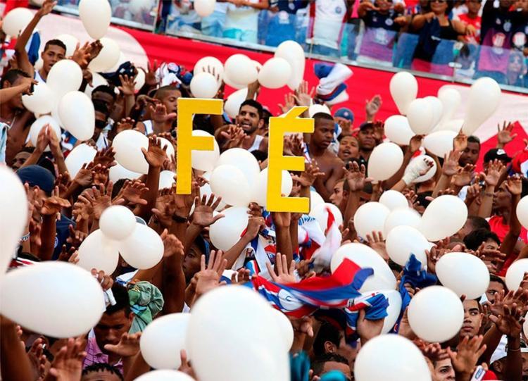 Imagino que Deus seja um senhor bastante ocupado. Não vou lhe dar tanto trabalho, pedindo o impossível no meu aniversário - Foto: Divulgação l Itaipava Arena Fonte Nova