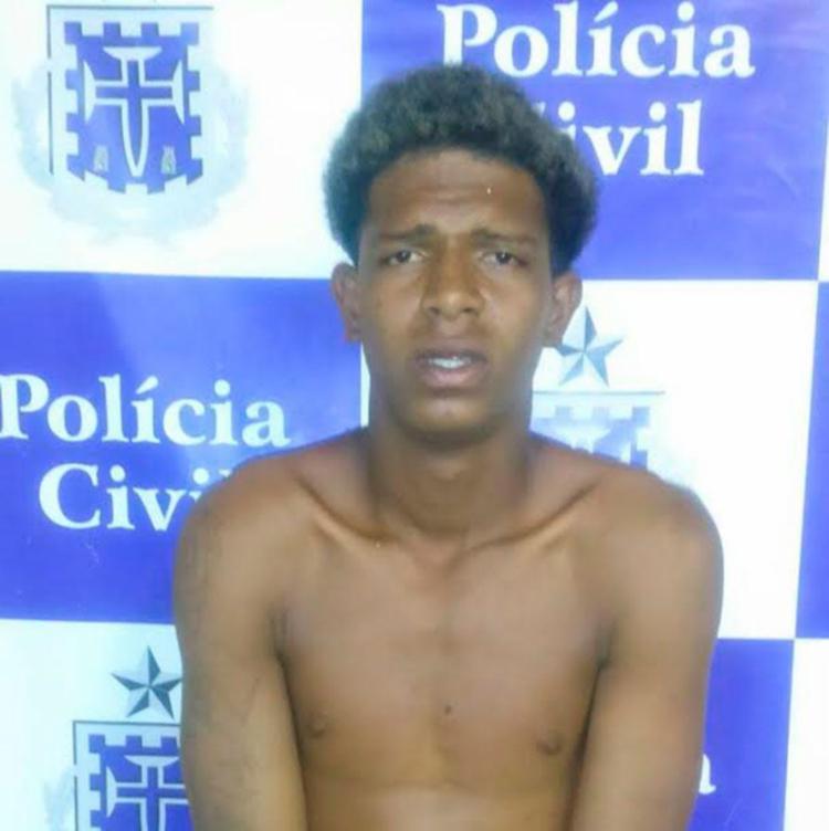 Willian foi levado para o Núcleo de Prisão em Flagrante - Foto: Polícia Civil   Divulgação