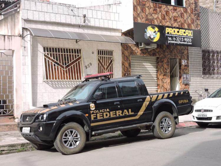 Policiais federais fazem operação na cidade de Itabuna - Foto: Polícia Federal   Divulgação