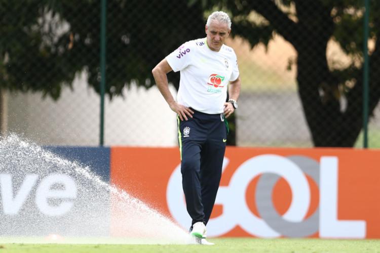 A seleção brasileira enfrenta os uruguaios nesta quinta-feira, 23, em Montevidéu - Foto: Lucas Figueiredo | CBF