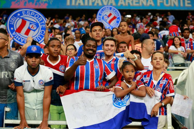 Os ingressos serão vendidos nesta sexta-feira, 18 - Foto: Felipe Oliveira | EC Bahia