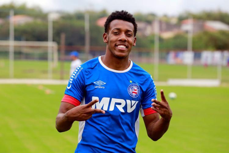 Lateral-esquerdo está confirmado no time titular para o duelo decisivo - Foto: Felipe Oliveira | EC Bahia