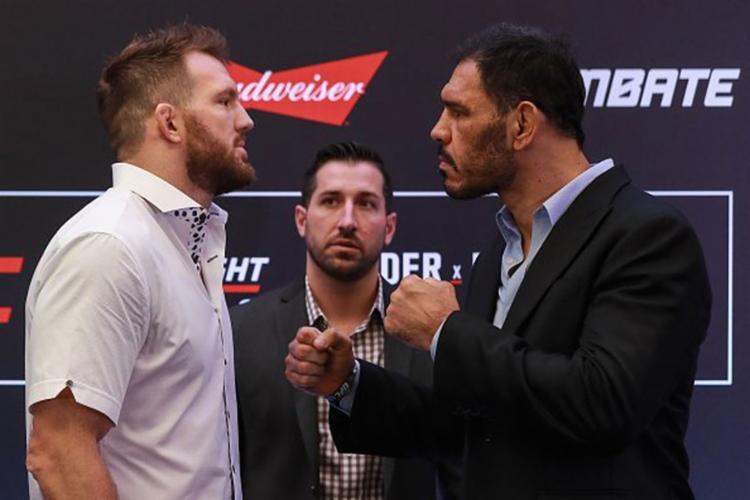 O baiano vai em busca de revanche da derrota em 2010 - Foto: Reprodução | Twitter | UFC Brasil