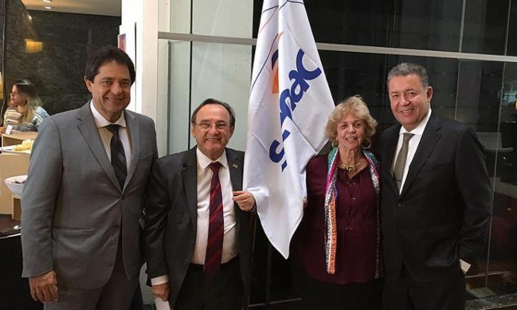 O evento de lançamento teve a participação do secretário do Turismo da Bahia, José Alves (E) - Foto: Divulgação l Ascom/Setur
