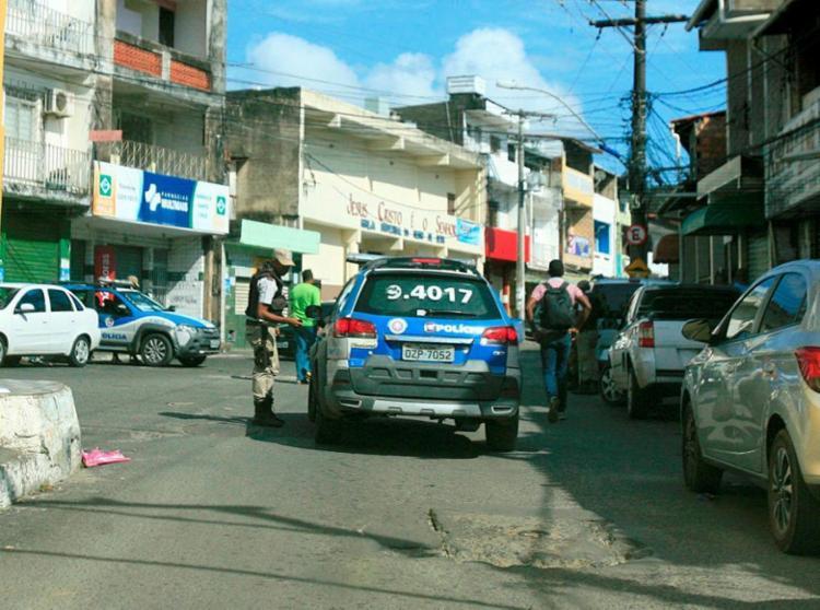 Transporte foi normalizado após policiamento ser reforçado - Foto: Edilson Lima | Ag. A TARDE