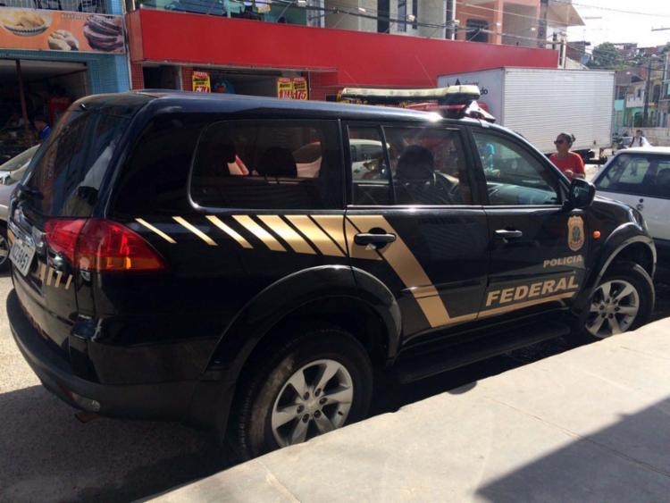 Quinze policiais cumprem seis mandados de busca e apreensão na cidade - Foto: Polícia Federal | Divulgação