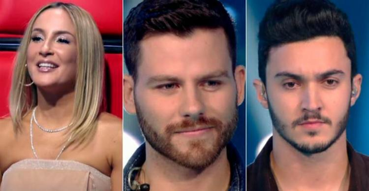 A cantora fez elogios a beleza dos candidatos no reality musical - Foto: Reprodução   TV Globo