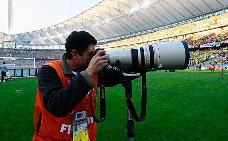 Eduardo Martins era referência no fotojornalismo esportivo - Foto: Reprodução   Facebook