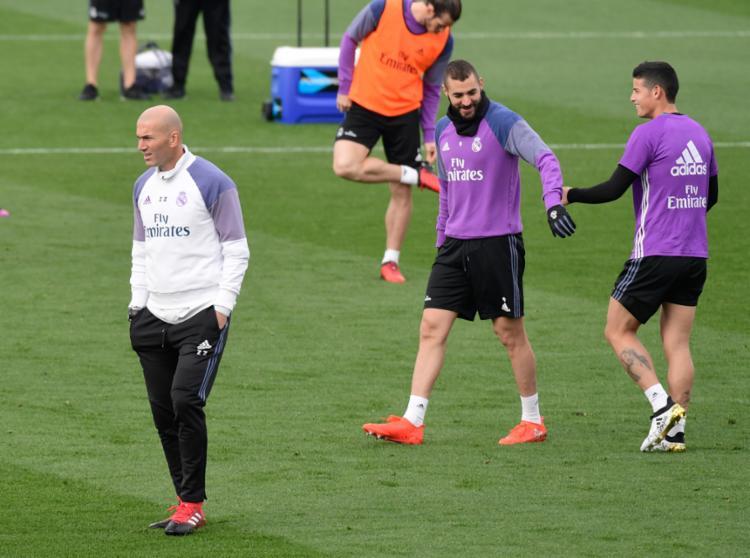 Benzema se recuperou de lesão a tempo para o clássico - Foto: Javier Soriano   AFP