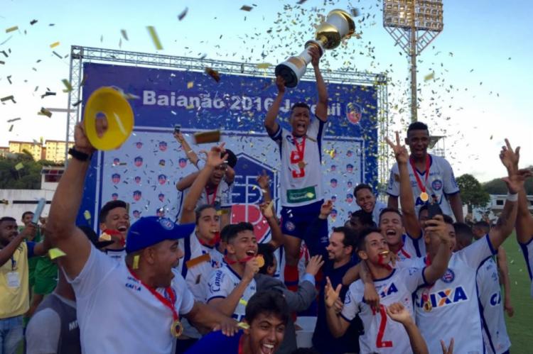 O Bahia venceu por 1 a 0 no Barradão - Foto: Divulgação   EC Bahia